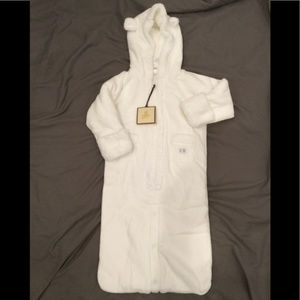SALE NWT Baby Gap Newborn Fleece One Piece